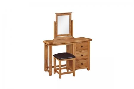 Oscar Dressing Table, Mirror U0026 Stool