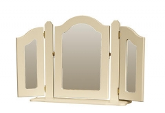 Annagh Ivory Triple Ornate Mirror