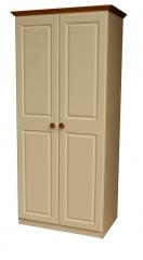 Annagh Ivory 2 Door Wardrobe