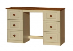 Annagh Ivory 6 Drawer Dressing Table