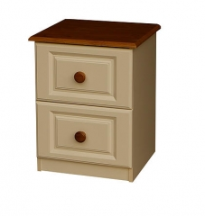 Annagh Ivory 2 Drawer Locker