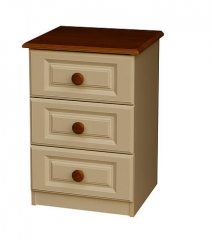 Annagh Ivory 3 Drawer Locker