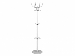 White Hat & Coat Stand