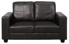 Queensbury Black 2 Seater Sofa