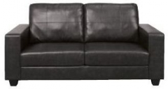 Queensbury Black 3 Seater Sofa