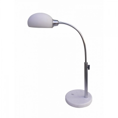 Aruba White Table Lamp