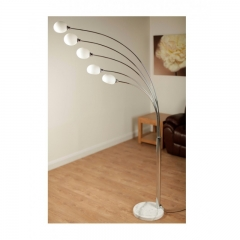 Aruba White Floor Lamp