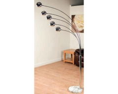 Aruba Chrome Floor Lamp