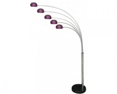 Aruba Purple Floor Lamp
