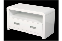 Atlantis Clarus White TV & DVD Unit