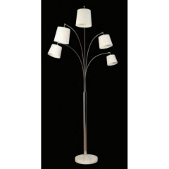 Avalon White Floor Lamp
