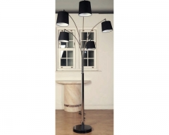 Avalon Black Floor Lamp