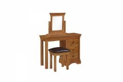 Delta Dressing Table, Mirror & Stool