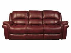 Farnham Burgundy 3 Seater Sofa