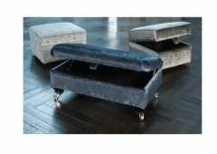 Fleming Legged Ottoman