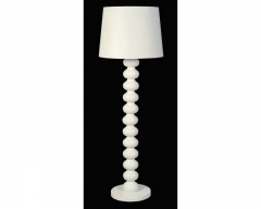 Harlem White Floor Lamp
