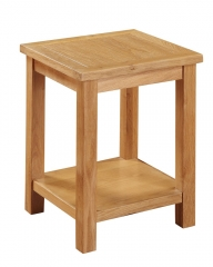 Hartford City Oak End Table