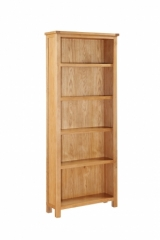 Hartford City Oak Tall Bookcase