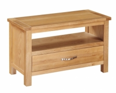 Hartford City Oak Small TV Unit