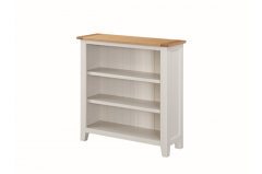 Ellington Painted Low Bookcase