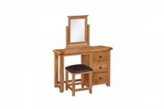 Oscar Dressing Table, Mirror & Stool