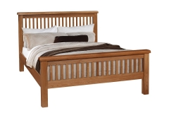 Oscar Slatted Bed Frame