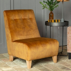 Reuben Armless Accent Chair