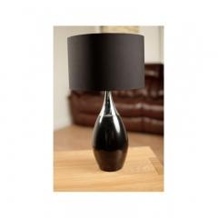 Talinn Black Table Lamp