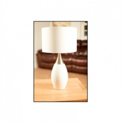 Talinn White Table Lamp