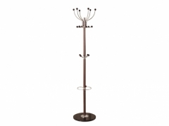 Brown Hat & Coat Stand