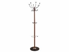 Light Brown Hat & Coat Stand