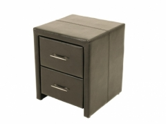Vancouver Black Nightstand