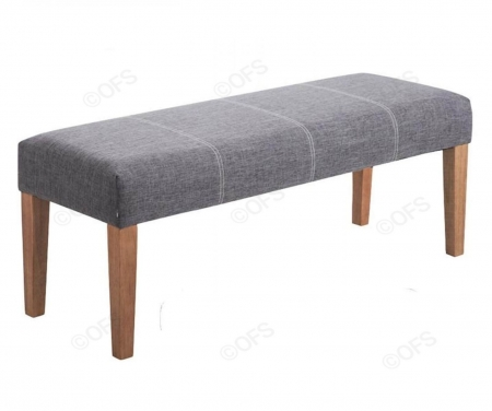 Zara Grey Bench